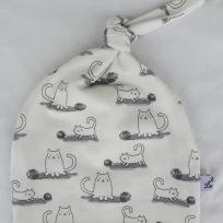 Katt med garnnystan