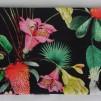 Pannband - Blommor på svar botten