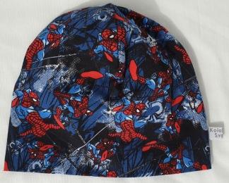 Spindelman på Marinblå botten Fodrad - 34-38 cm.  Ca: 0-2 månader