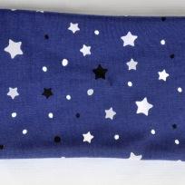 Stjärnor (självlysande i mörker) Fodrat pannband