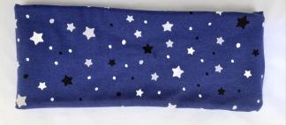 Stjärnor (självlysande i mörker) Fodrat pannband - För ungdom och vuxen