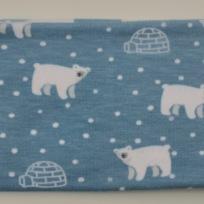 Isbjörnor och iglos Fodrat pannband