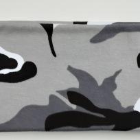 Camo grå Fodrat pannband