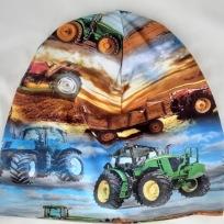 Traktor och himmel