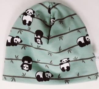 Panda grön botten - 34-38 cm. Ca: 0-3 månader