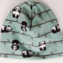 Panda grön botten