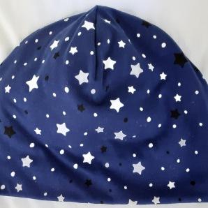 Stjärnor på blå botten (självlysande i mörker)