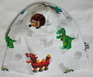 Lego vit - 34-38 cm. Ca: 0-3 månader