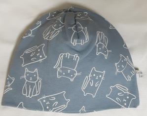 Katter gråblå