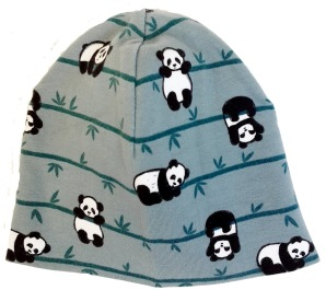 Pandor gråblå