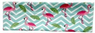 Pannband flamingo -