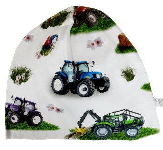 Traktor - 34-38 cm. Ca: 0-3 månader