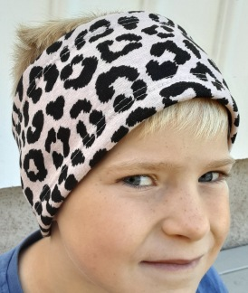 Djurmönstrad  puderrosa - För ungdom och vuxen