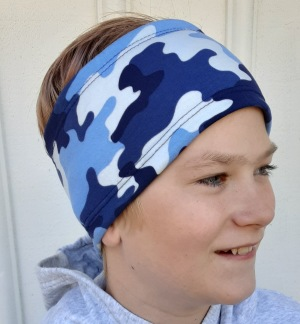 Camo Blå - För ungdom och vuxen