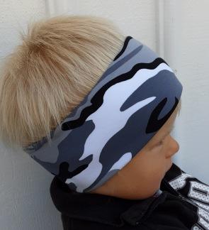 Camo grå - Barn upp till 4 år