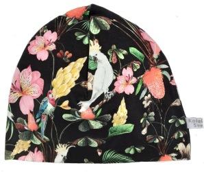 Blommor med kakaduva