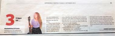 Göteborgs Posten 2011
