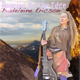 Dancing On The Edge_Madeleine Ericson_Skivomslag