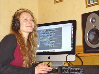 Är i full gång i studion med mix -och mastring, 2012