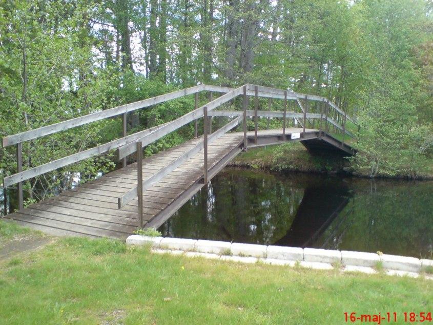 Förslag till bro över Edenbergaån