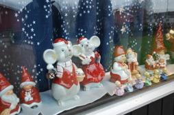 Bodil Oscarssons fina målade julsaker