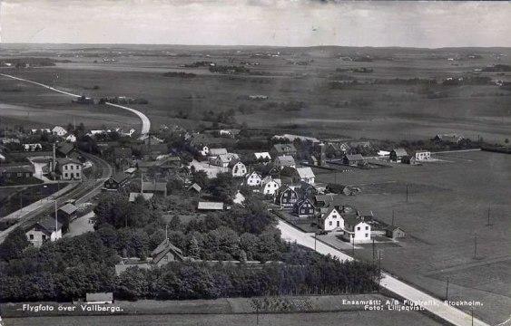 Vallberga före1950