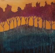 Sunset - 40x40cm