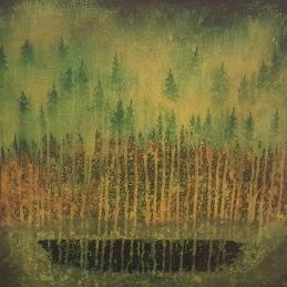I skogen - 40x40cm Privat
