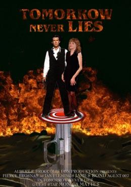 Tomorrow never lies Starring Pierse Brosnan och Monica Mattes