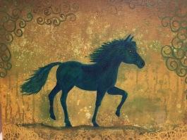 Häst 39x30 900kr