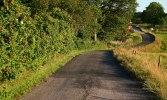 Slingrande väg. FOTO: MICAEL GOTH