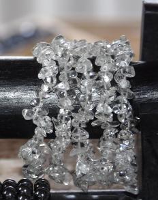 Armband bergskristall -