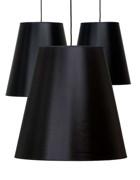 Cone i svart chinette