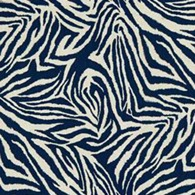Funky Zebra Blå S
