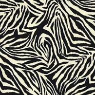 Funky Zebra Svart S
