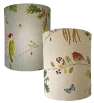 Woodland Chorus from Sanderson here as wall lamp Love 30
