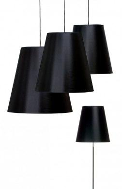 Cone i Chinette Svart