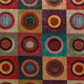 Dress Circle-Velvet Röd PG18