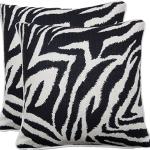 Zebra-Svart