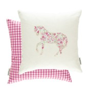 Pretty Ponies Pink/Sky 43x43