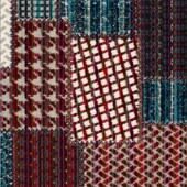 Bohemian Patchwork Blå/Röd PG17