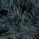 Butterfly-Palm-Velvet-Blågrå-PG8