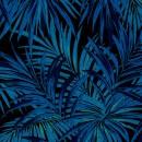 Butterfly-Palm-Velvet-Blå-PG8