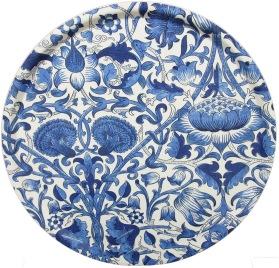 Bricka Lodden China Blue