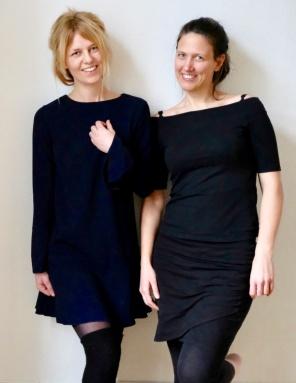 Malin Sandell och Ina Elverljung. FOTO: Teres Arvidsson.