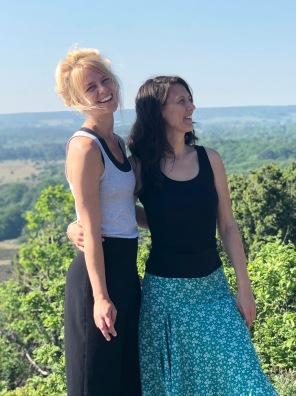 Malin Sandell och Ina Elverljung. FOTO: Eleonore Hedin.