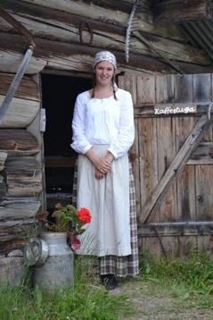 Johanna Halvardsson öppet fäbod