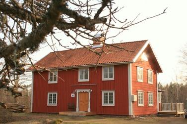 Nämndemanshuset från slutet 1700- talet som renoverats 2011