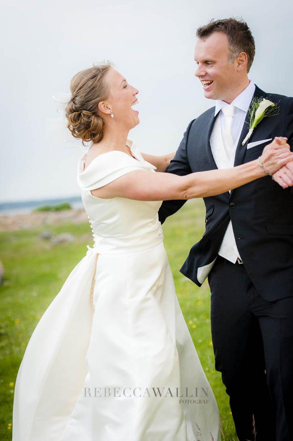 Levande bröllopsporträtt - Fotograf Rebecca Wallin