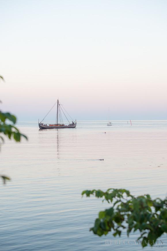 Vikingaskepp, Skillinge hamn - Rebecca Wallin